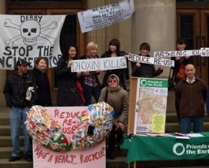 Safe Waste Shropshire sward Campaign